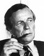 David Ogilvy contemplating